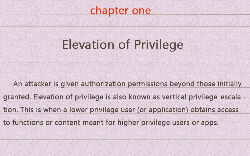 élévation du-privilège stforum