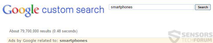 google-custom-search-safe-web-results-sensorstechforum