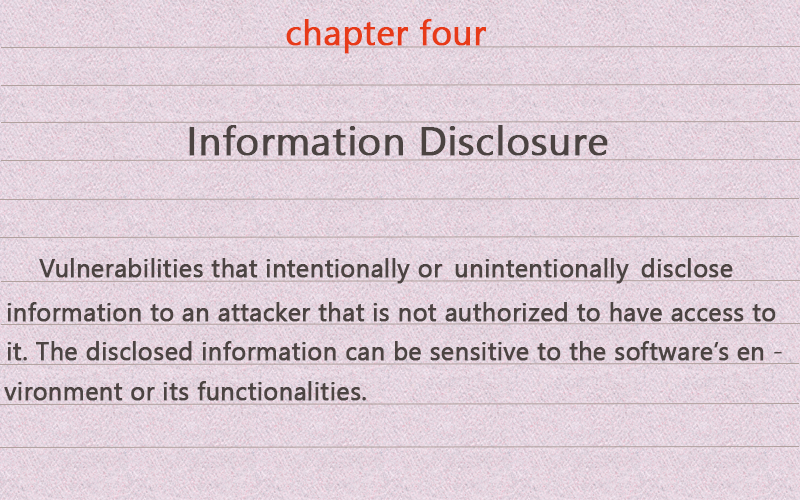 information-disclosure