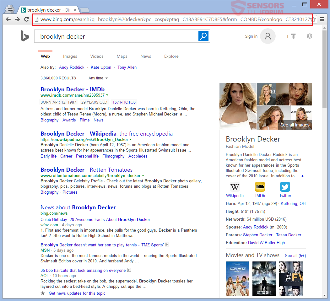 Search Results: Remove SafeSearch(.)net Hijacker From Your PC