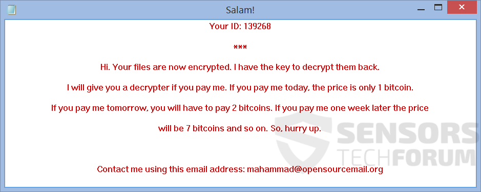 STF-salam!-salam-ransomware-ransom-note