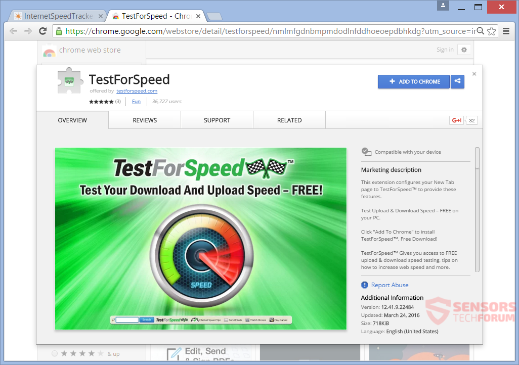 STF-testforspeed-com-test-for-speed-by-myway-my-way-mindspark-google-chrome-web-store-download-extension