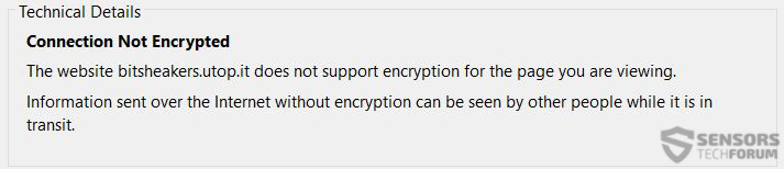 bitsheakers-not-encrypted-sensorstechforum
