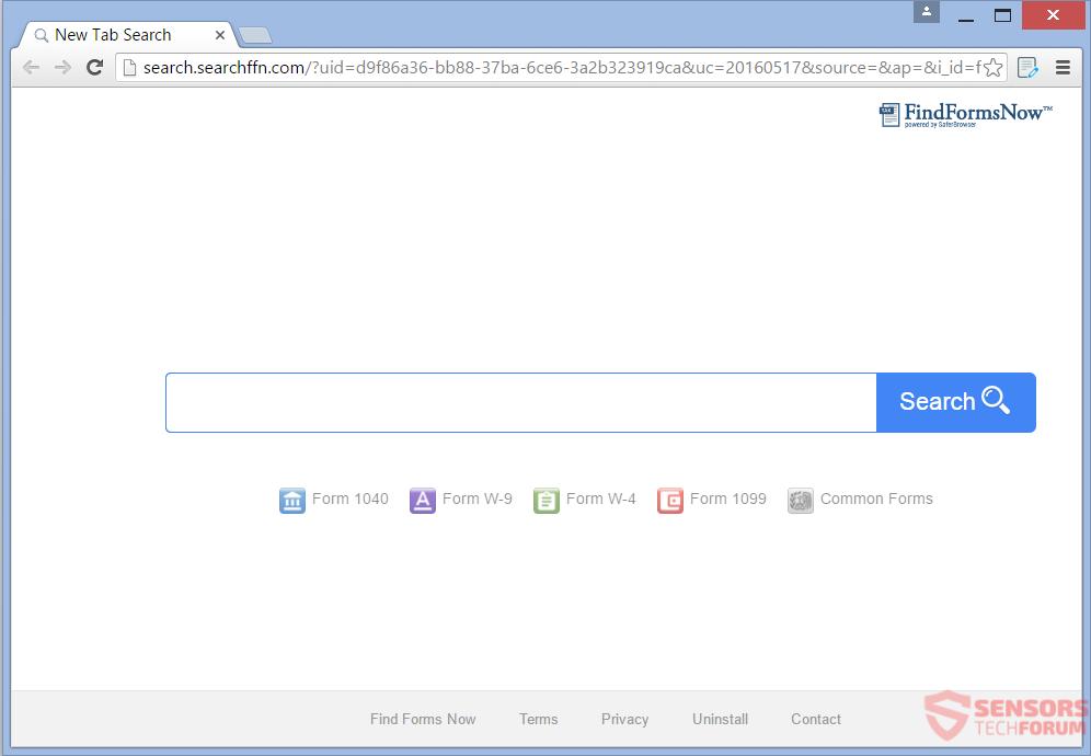 STF-findnewforms-com-find-new-forms-search-searchffn-new-tab-hijacker