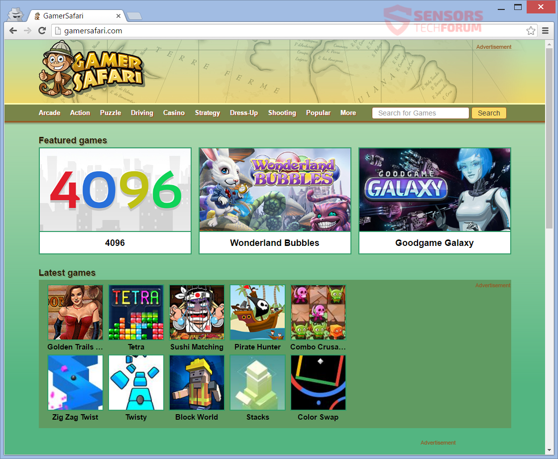 STF-gamersafari-com-redirect-gamevance-com-game-vance-gamer-safari-adware-main-page