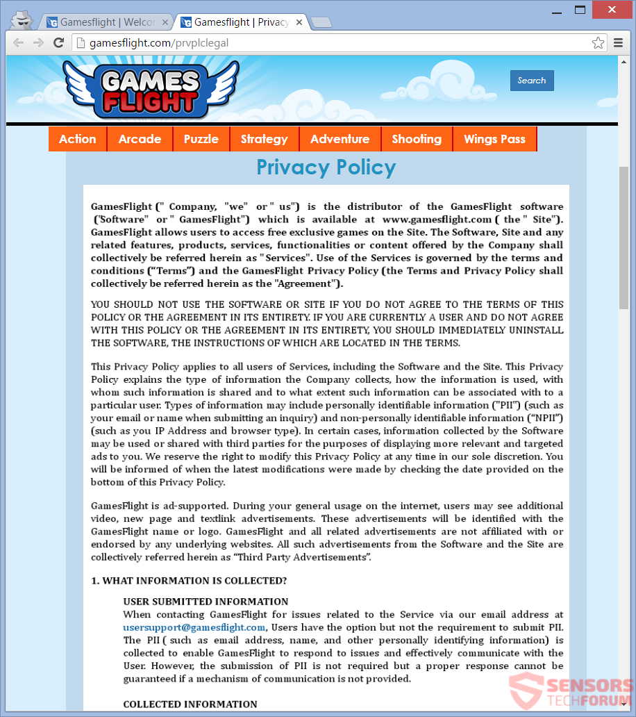 STF-gamesflight-com-games-flight-adware-ads-privacy-policy