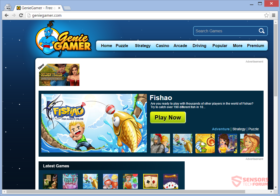 STF-geniegamer-com-genie-gamer-adware-ads-main-page