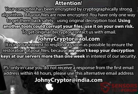 STF-johnycryptor-ransomware-Johny-Cryptor-aol-løsepenge-note-desktop