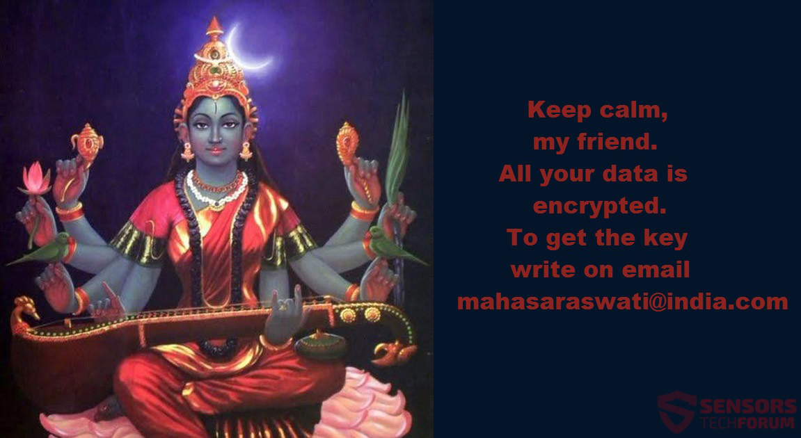 STF-mahasaraswati ransomware-raja-matangi-note-encrypted-files
