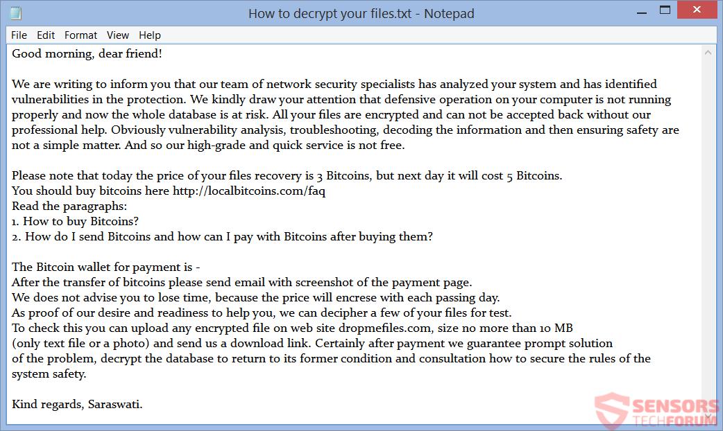 STF-mahasaraswati ransomware-raja-matangi-note-ransom-instructions-file-how-to-decrypt-your-files-txt
