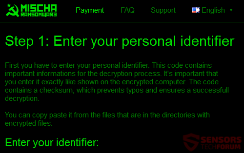 STF-mischa-ransomware-ransom-message-note-instructions