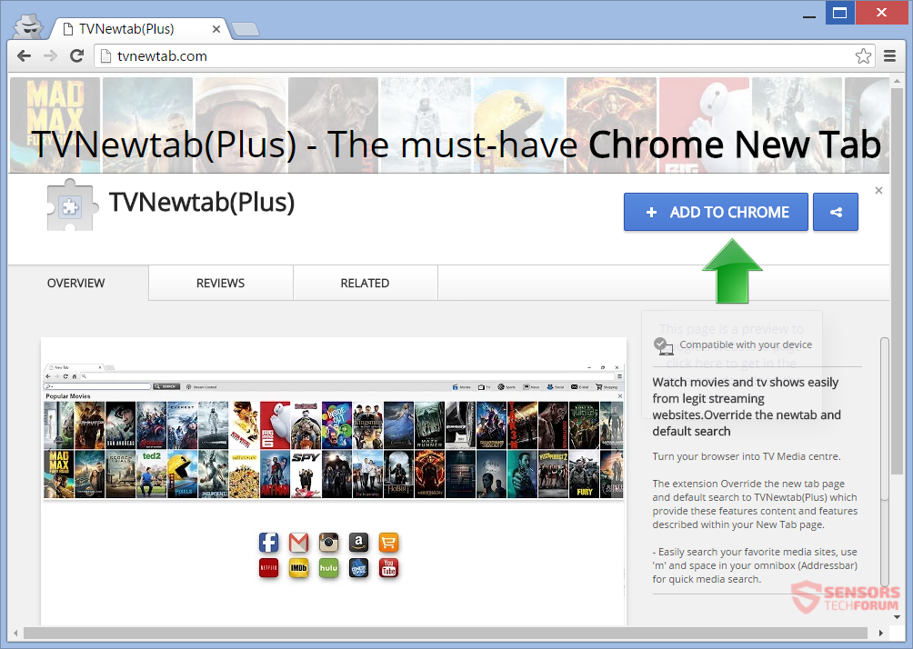 STF-tvnewtab-tv-new-tab-search-for-google-chrome