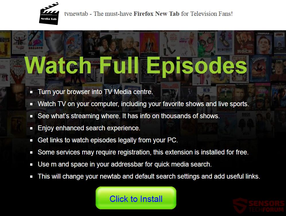 STF-tvnewtab-tv-new-tab-search-for-mozilla-firefox