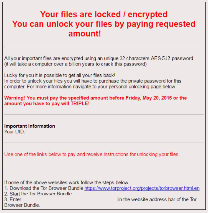 Remove Gnl Locker Ransomware And Restore Locked Aes 512 Files How