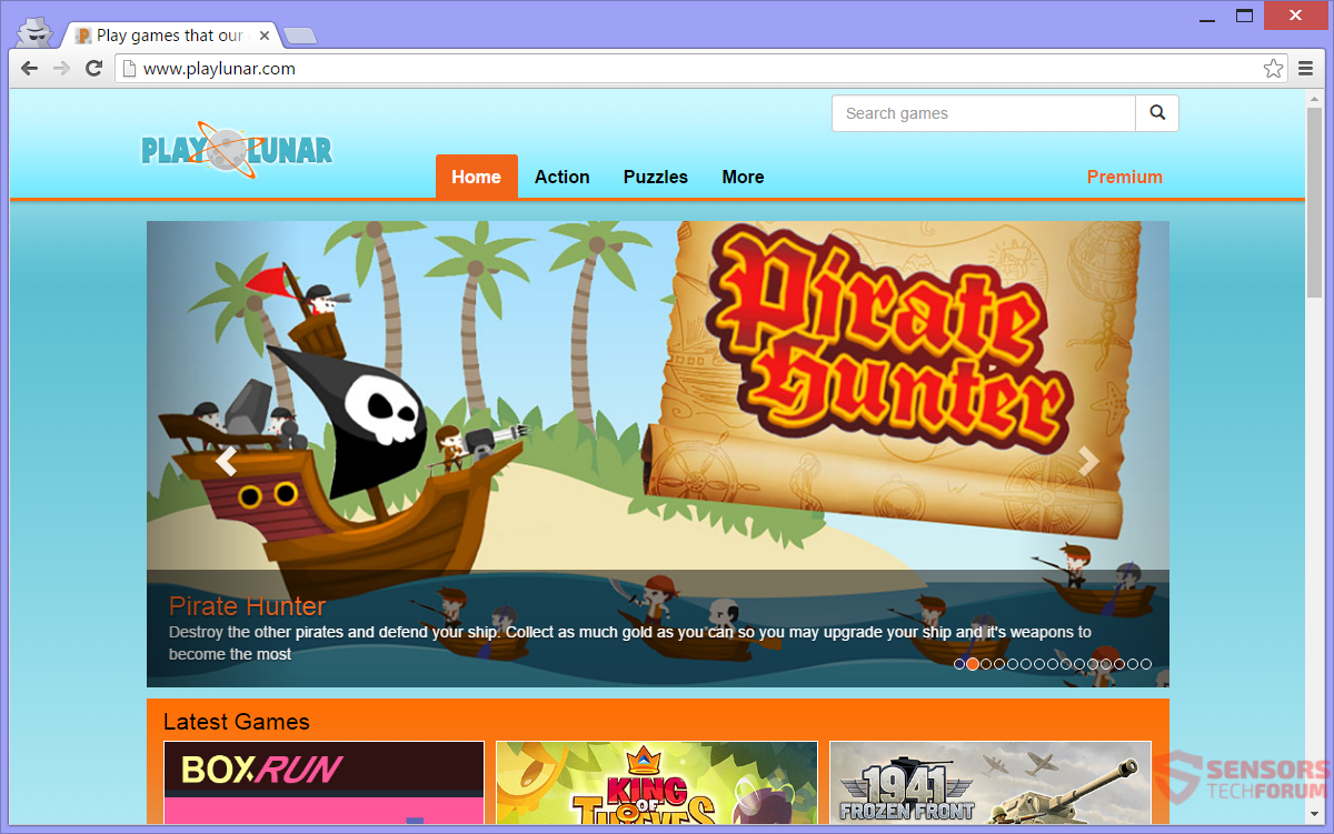 STF-playlunar-com-play-lunar-ads-online-games-main-site-page