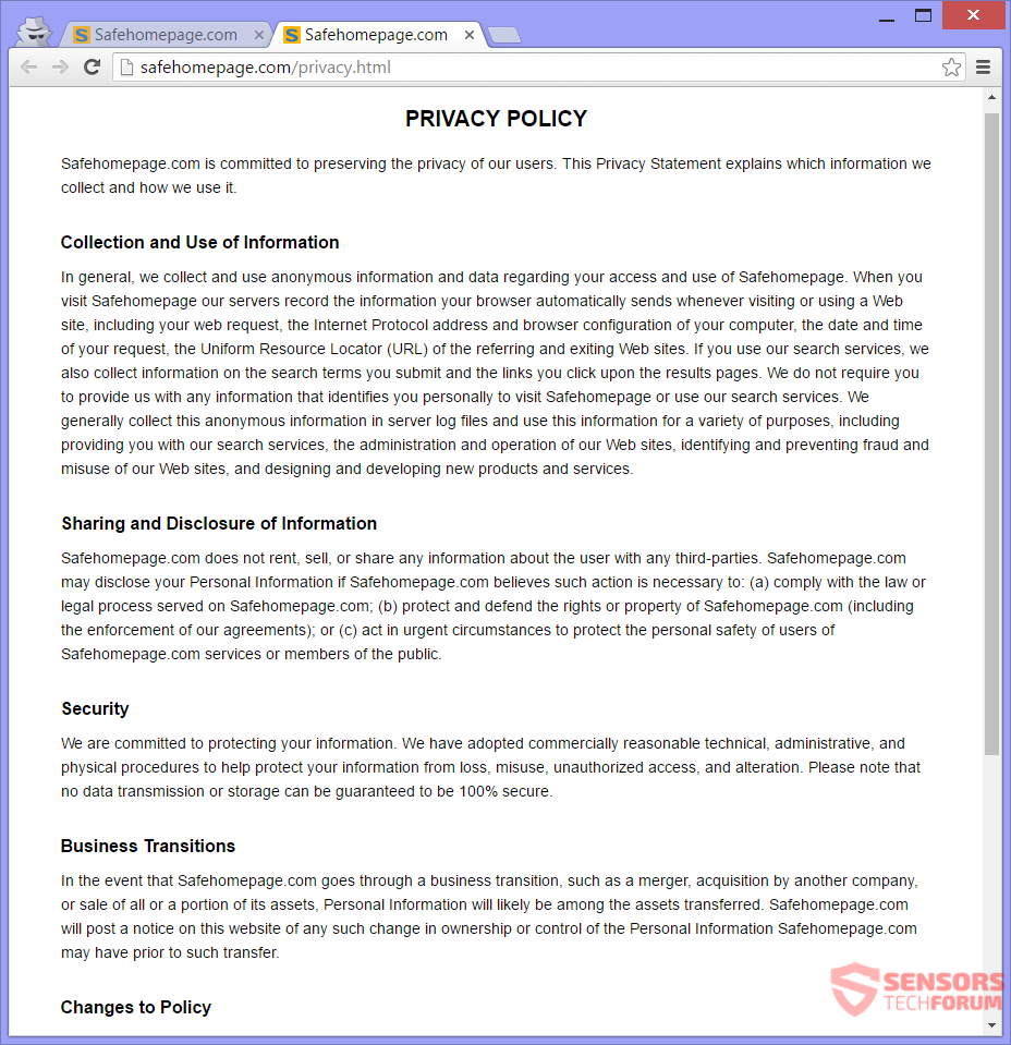 STF-safehomepage-com-safe-home-page-privacy-policy