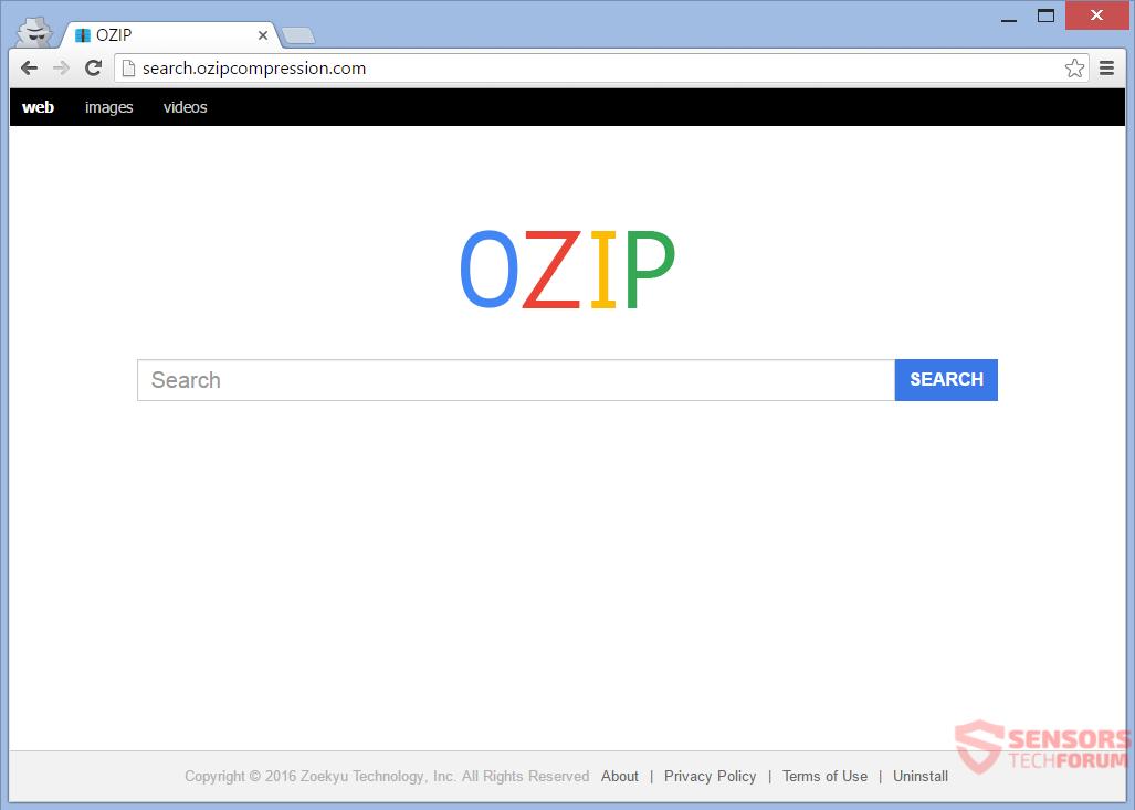 STF-search-ozip-compression-com-search-hijacker-page
