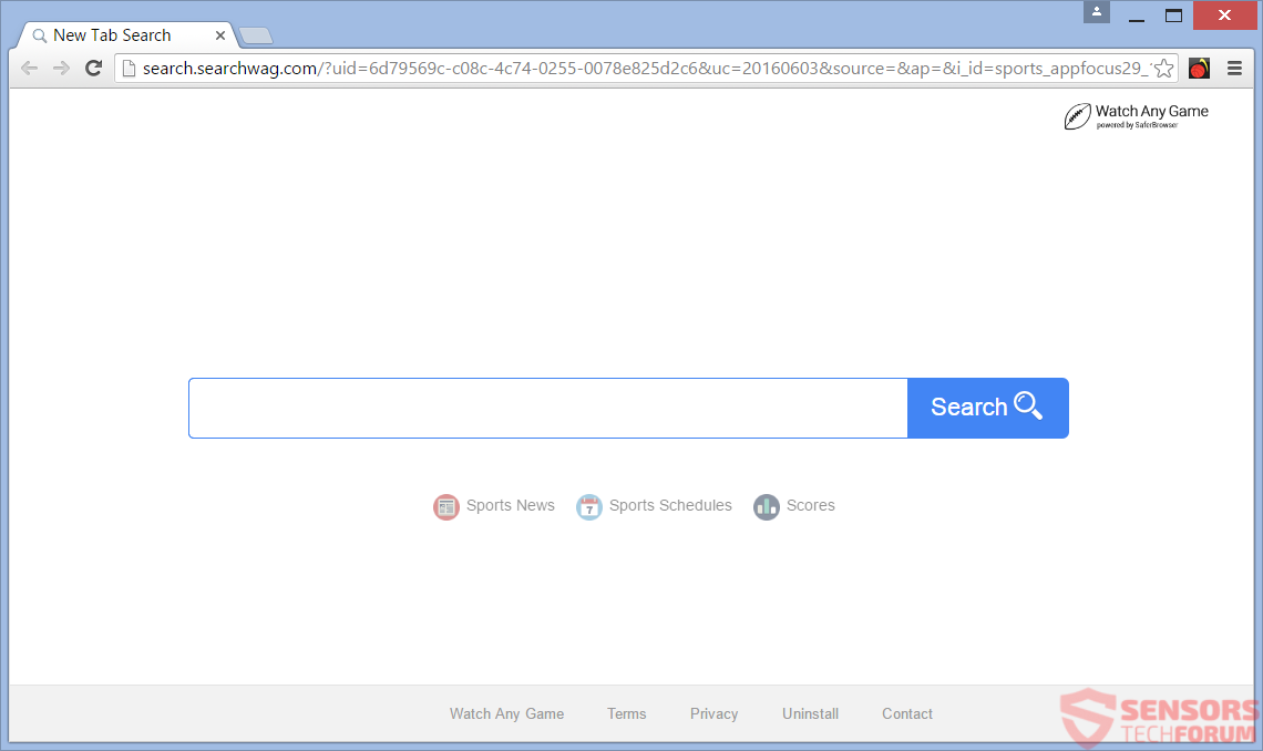 STF-search-searchwag-com-wag-browser-hijacker-saferbrowser-safer-main-site-page