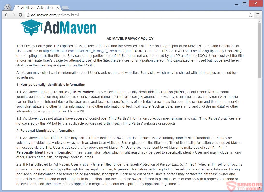 SensorsTechForum-ad-maven-com-privacy-policy