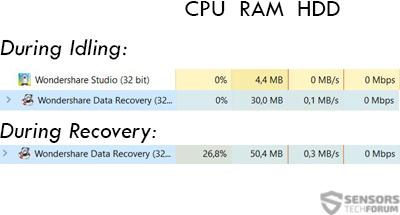 Wondershare-data-recovery-idle-vs-scanning