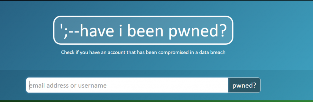 have-i-been-pwned-stforum-email-address