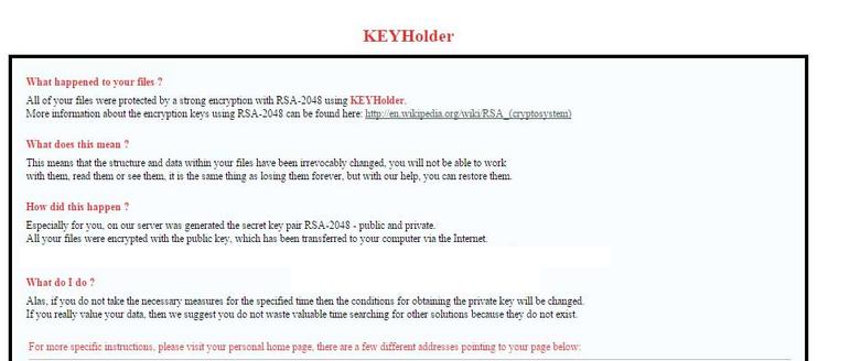 keyholder-html-file-ransom-note-sensorstechforum
