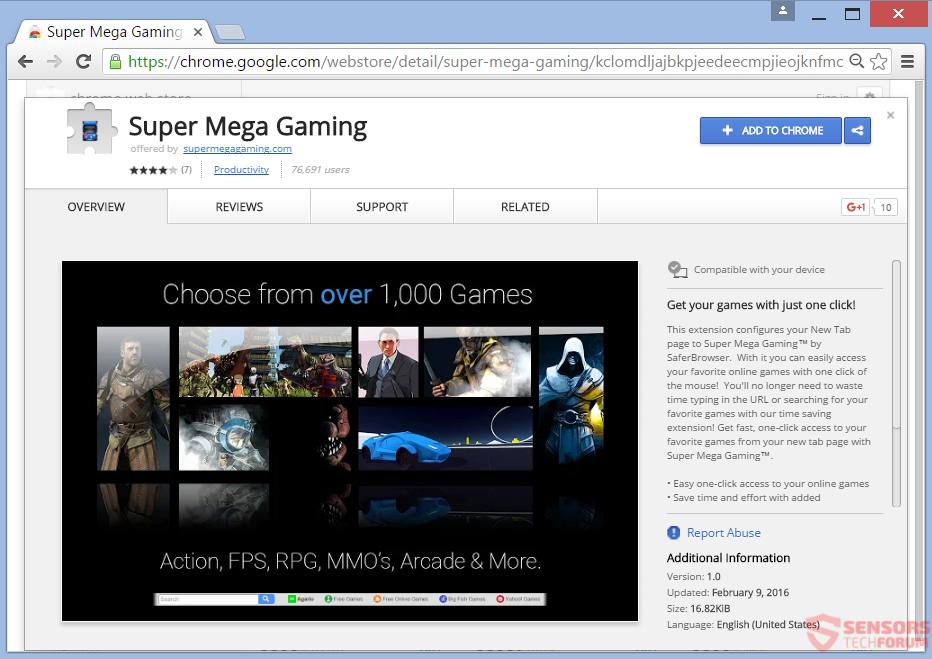 meggaming-com-super-méga-gaming-chrome-extension de boutique en ligne