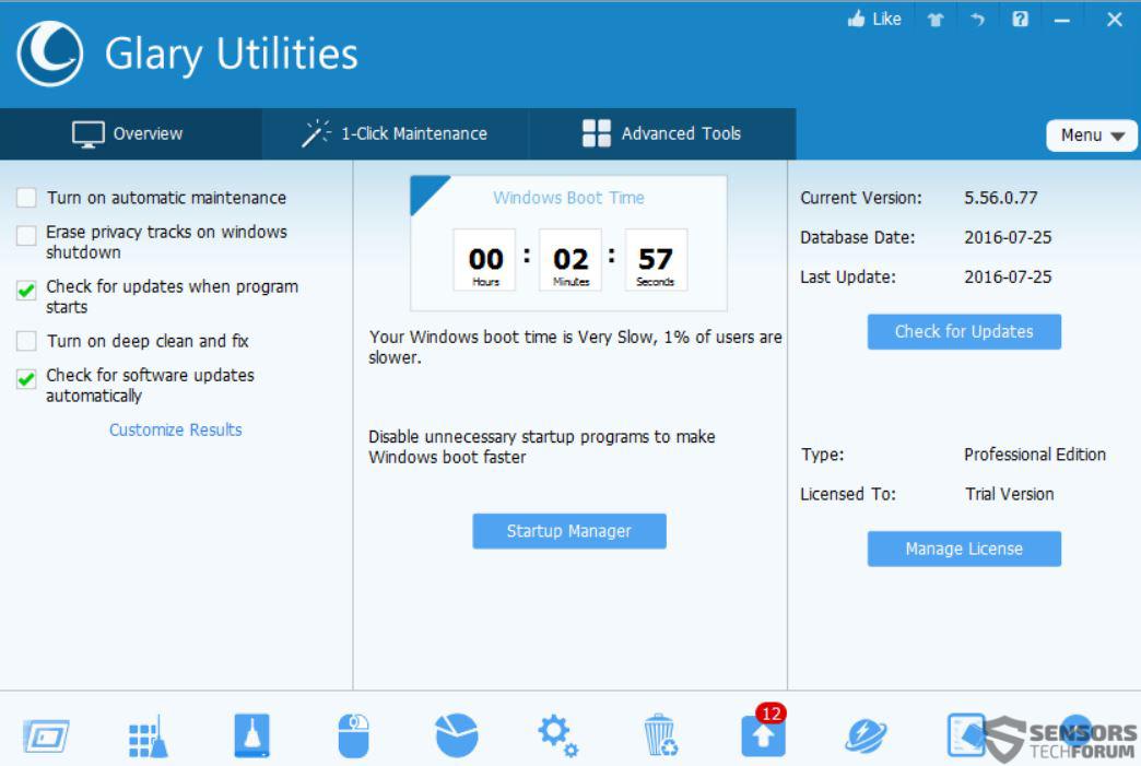 Glary Utilities-5-sensorstechforum