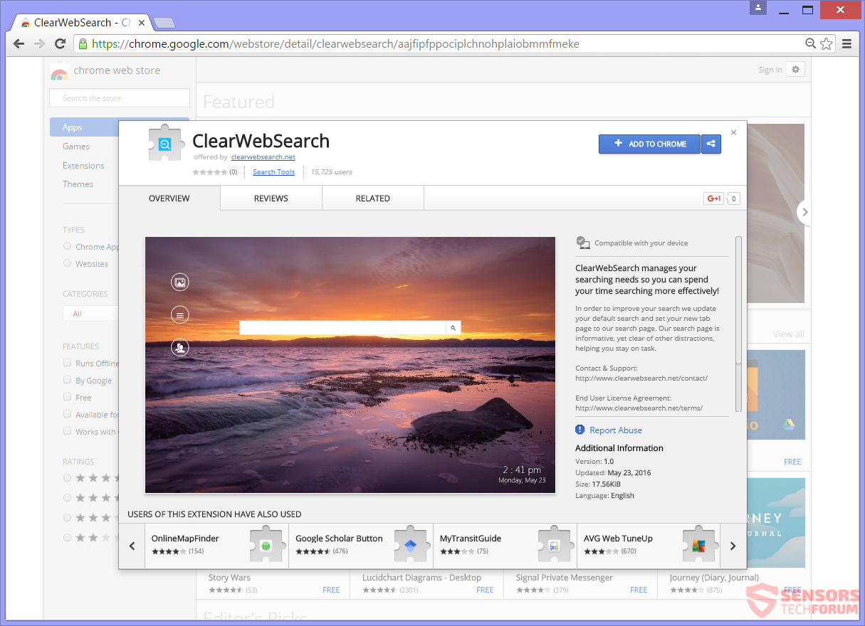 STF-clearwebsearch-net-clear-web-search-google-chrome-web-store-download-app