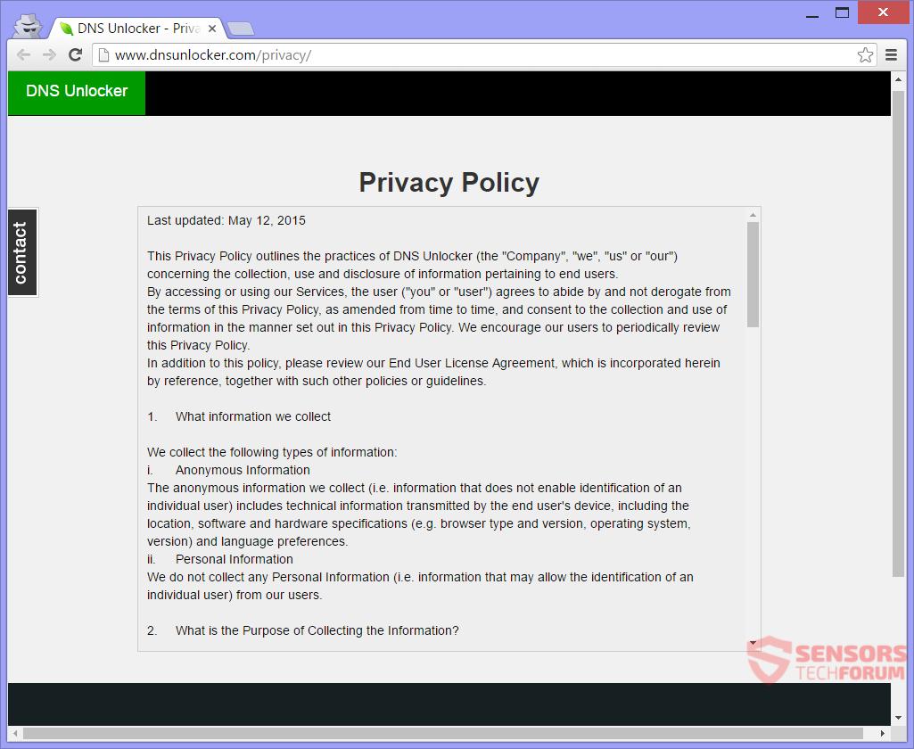 STF-dns-unlocker-2016-Adware-ads-Datenschutz-Politik