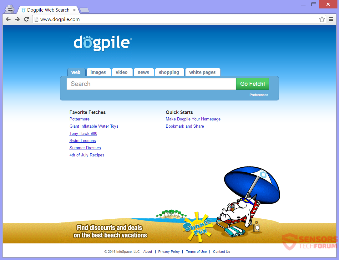 Retire Dogpile(.)com secuestrador del navegador con eficacia - Cómo ...