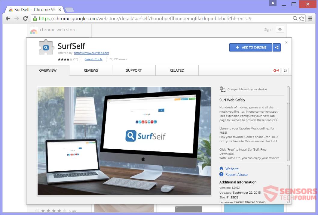 STF-surfself-com-surf-self-google-chrome-web-store-extension