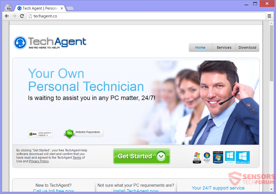 STF-techagent-co-tech-agent-co-fake-tech-support-scam-main-site-page