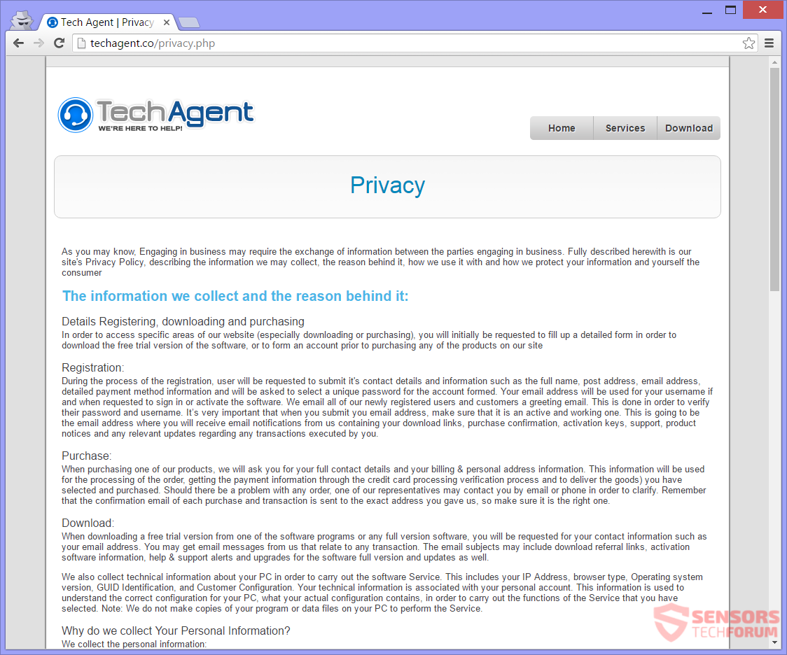 STF-techagent-co-tech-agent-co-fake-tech-support-scam-privacy-policy