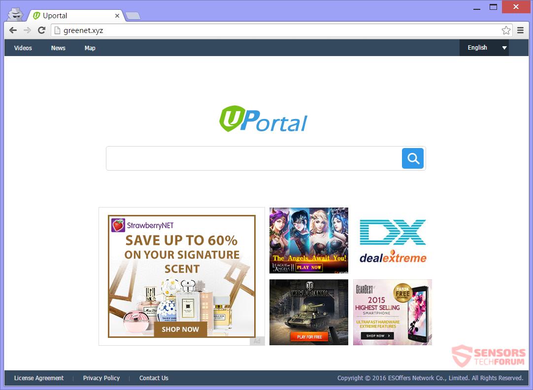 SensorsTechForum-uportal-xyz-u-portal-hijacker-main-page