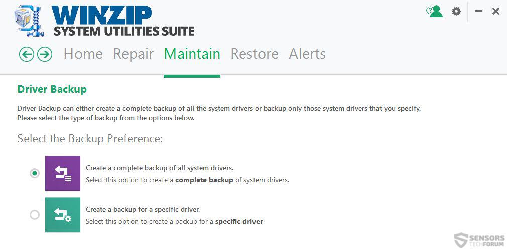 driver-backup-winzip-system-utilities-sensorstechforum
