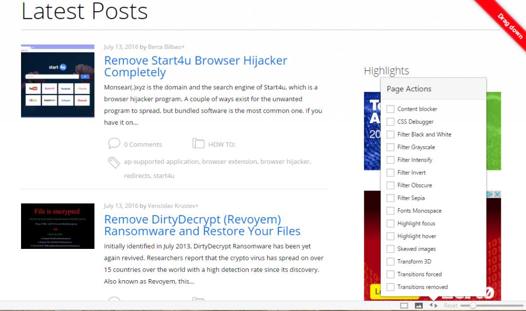 Vivaldi-browser-page-acções-stforum