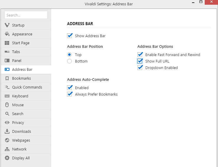vivaldi-browser-settings-show-full-URL-stforum
