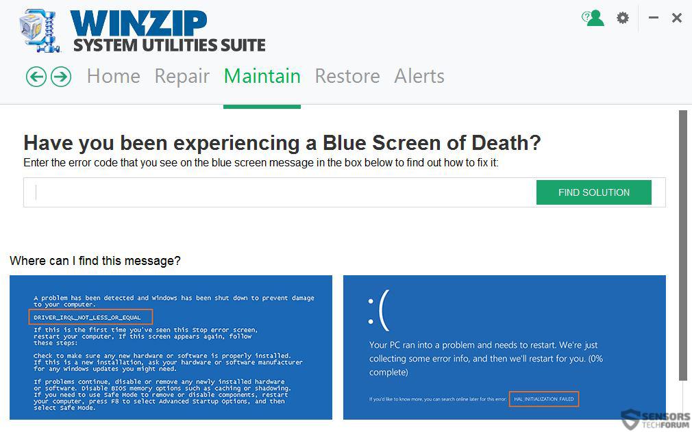 winzip-system-utilities-crash-helper-sensorstechforum