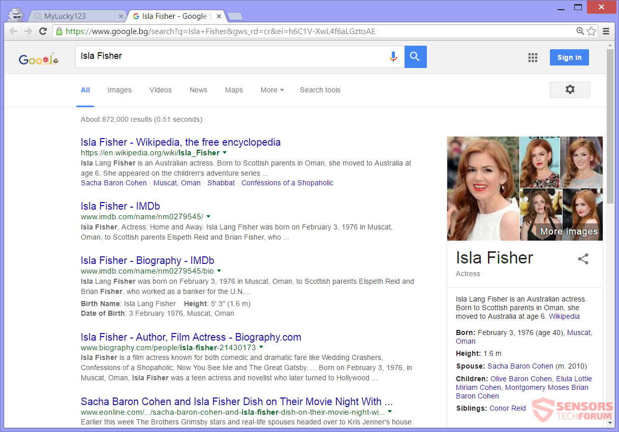 STF-Mylucky123-com-my-lucky-123-hijacker-isla-fisher-search-results