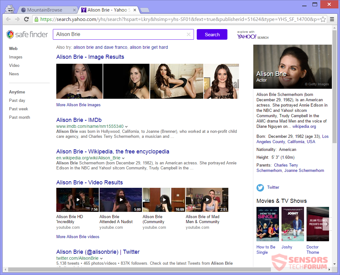 STF-mountainbrowse-com-mountain-browse-hijacker-safefinder-safe-finder-alison-brie-search-results