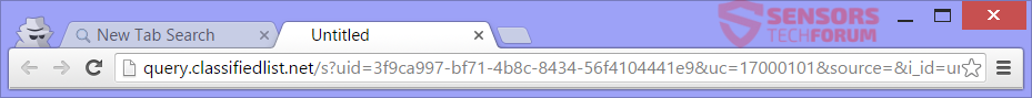STF-search-classifiedlist-net-classified-list-hijacker-saferbrowser-safer-browser-redirect