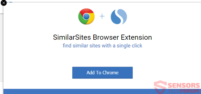 STF-SimilarSites-com-simili-add-on-extension-chrome-pop-up-annunci