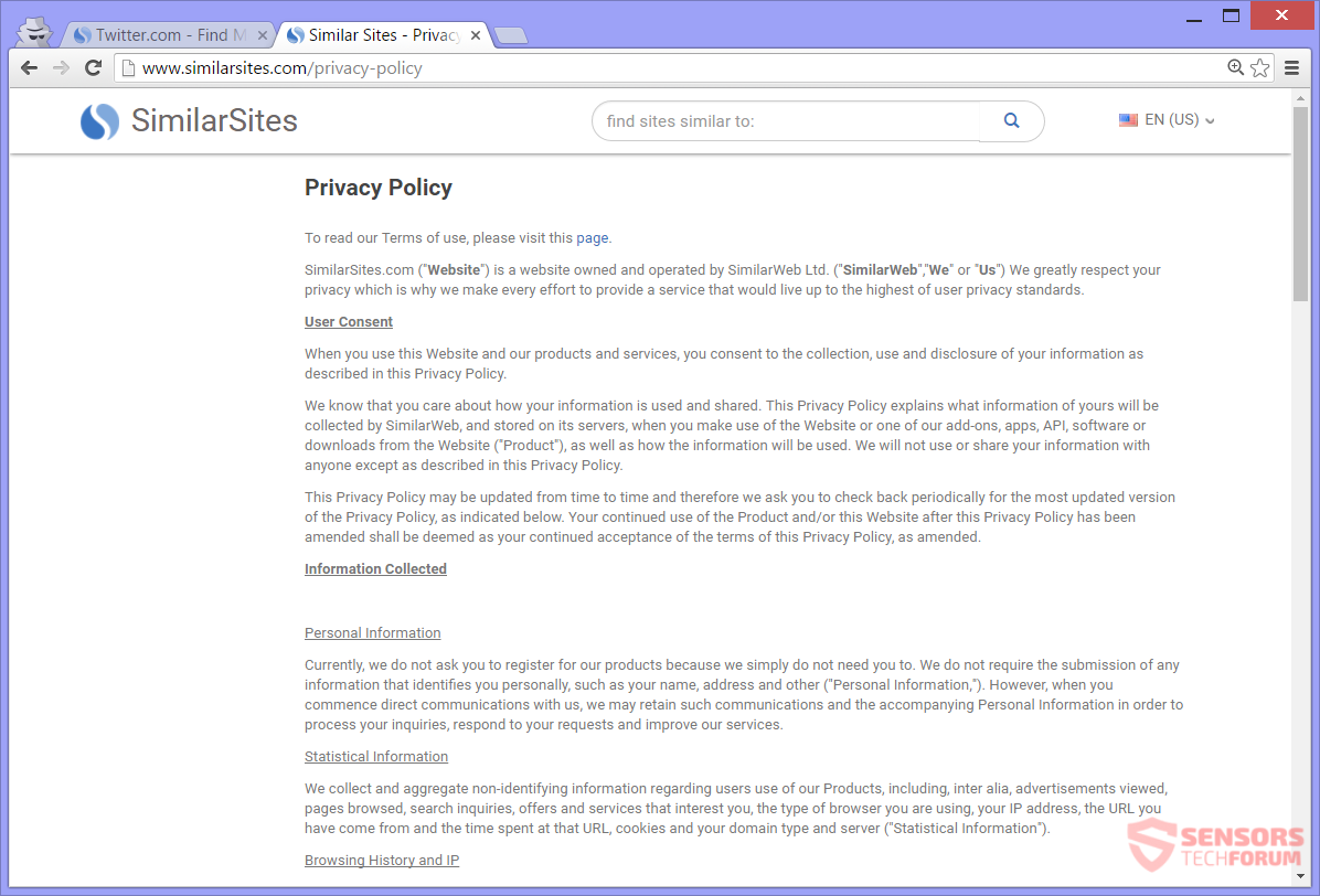 STF-SimilarSites-com-simili-privacy-policy