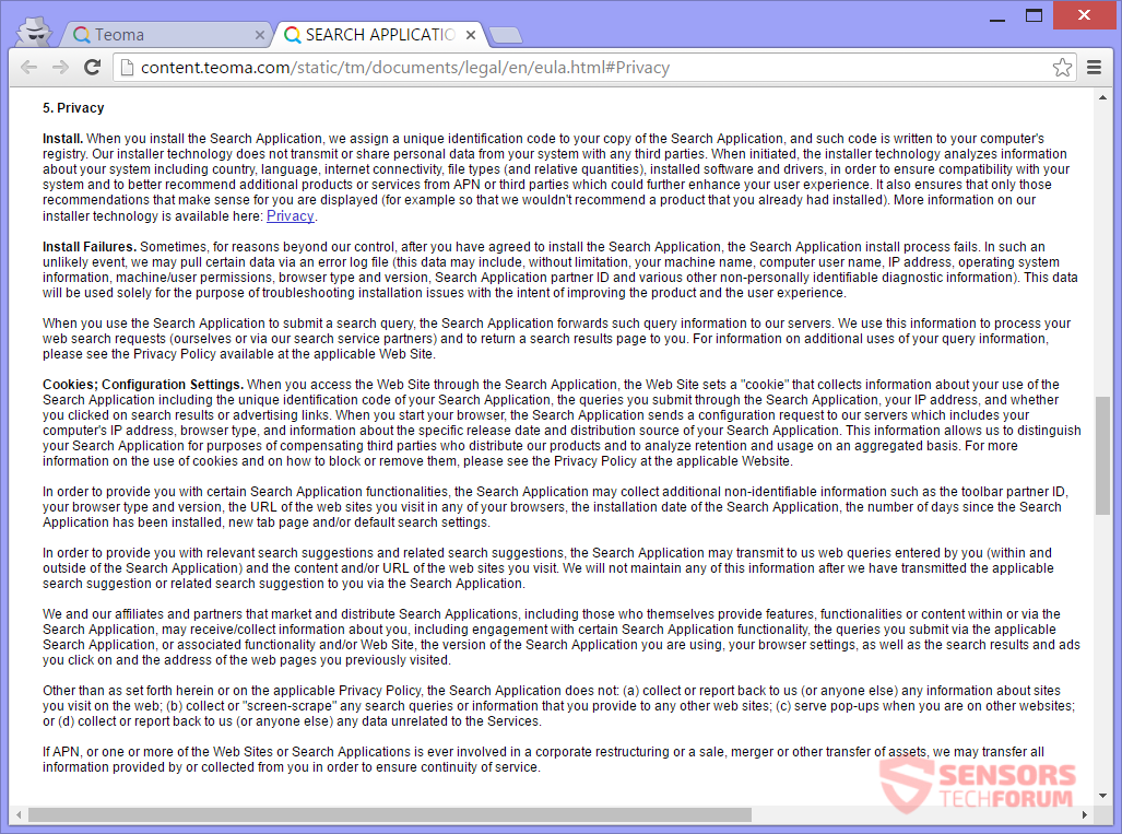 STF-teoma-com-browser-hijacker-apn-llc-privacy-policy