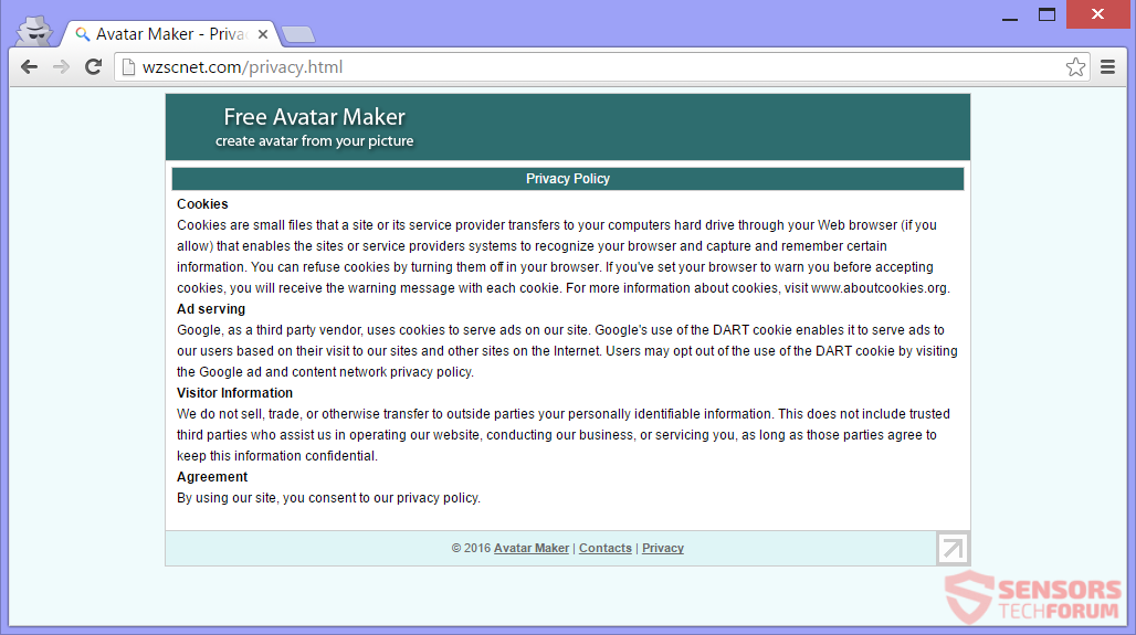 STF-wzscnet-com-main-site-page-free-avatar-maker-privacy-policy