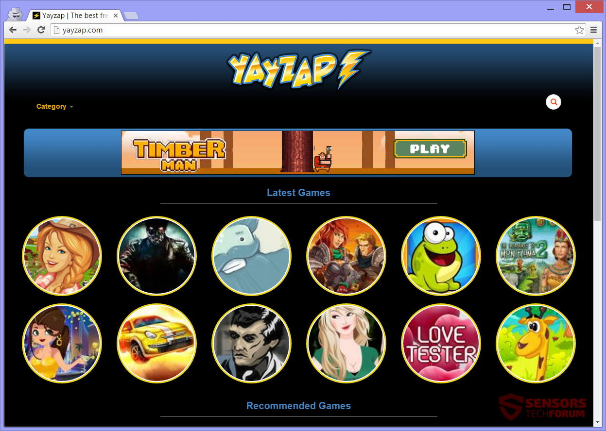 STF-yayzap-com-yay-zap-ads-adware-main-site-page