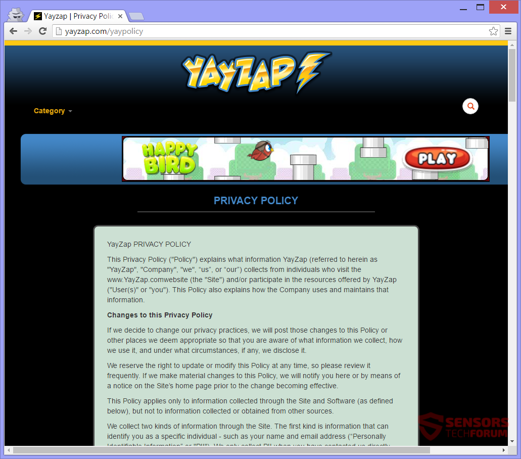 STF-yayzap-com-yay-zap-ads-adware-privacy-policy