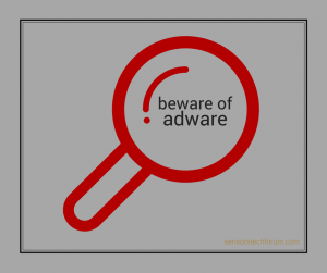 beware-of-adware-sensorstechforum